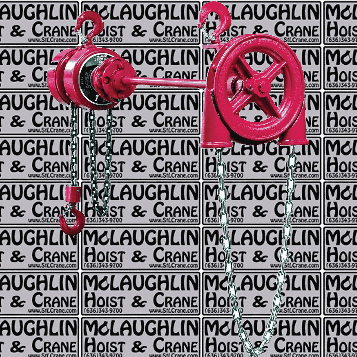 Chester® Zephyr Extended Handwheel Hoist
