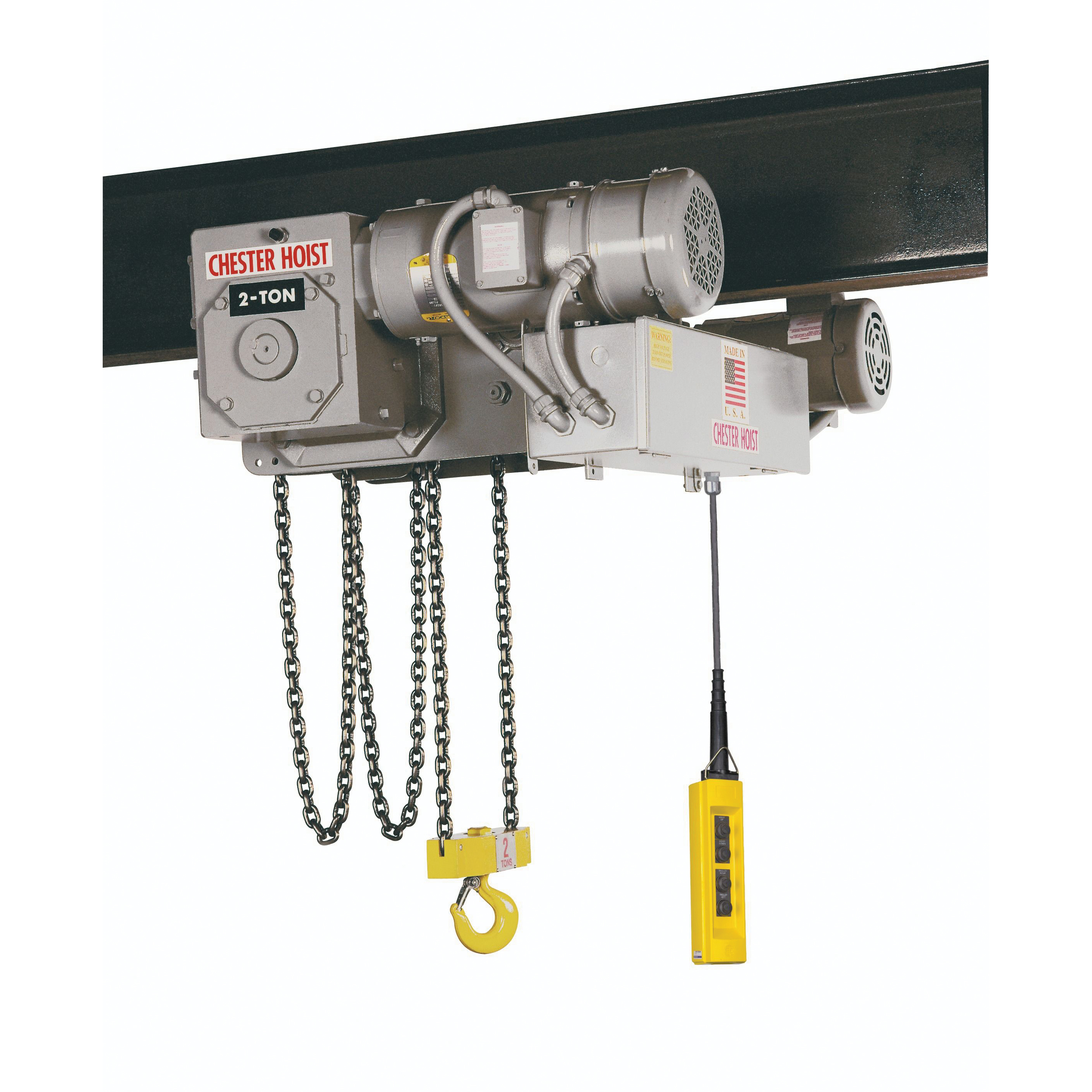 Chester SLE Low Headroom Electric Chain Hoist