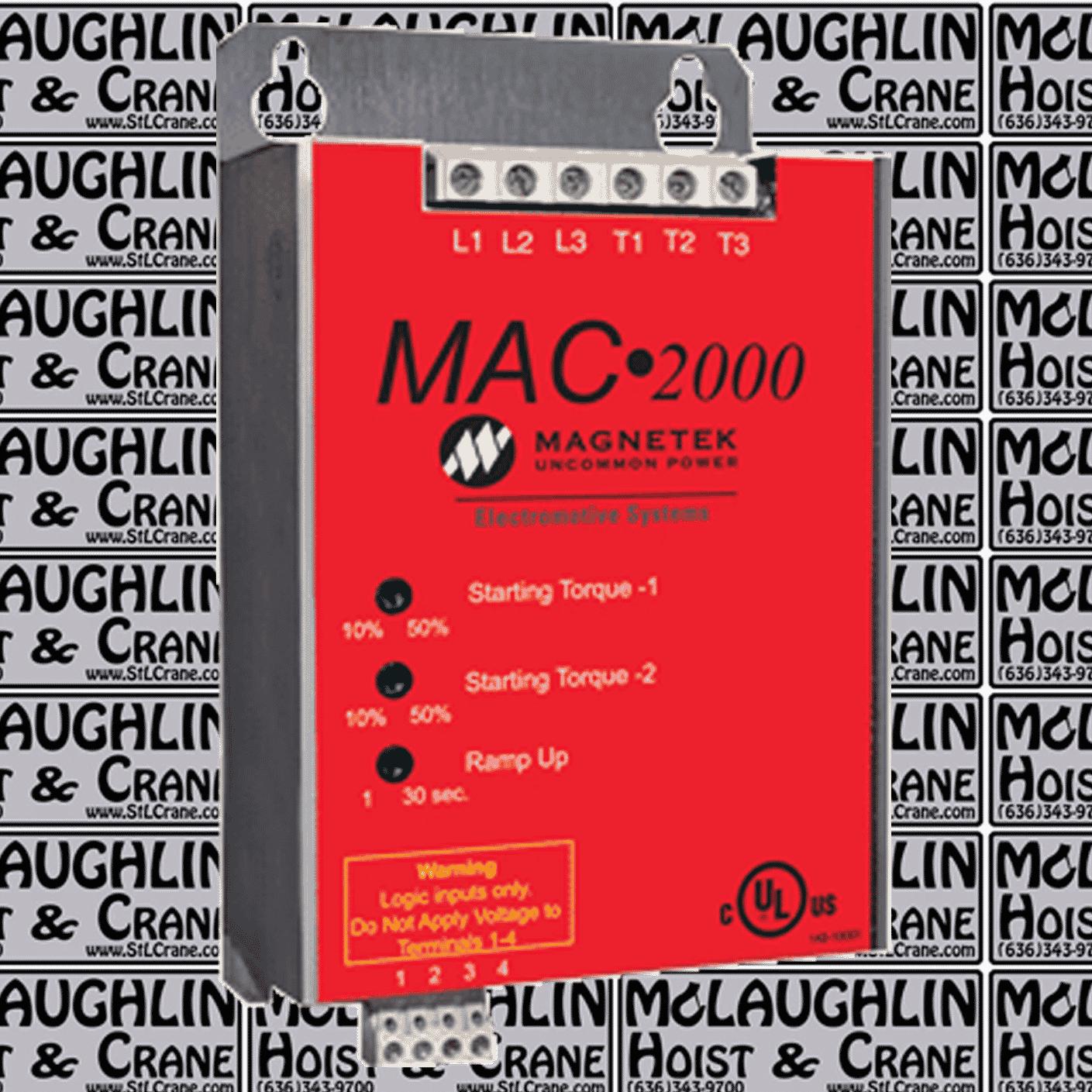 Magnetek MAC 2000 Soft Start