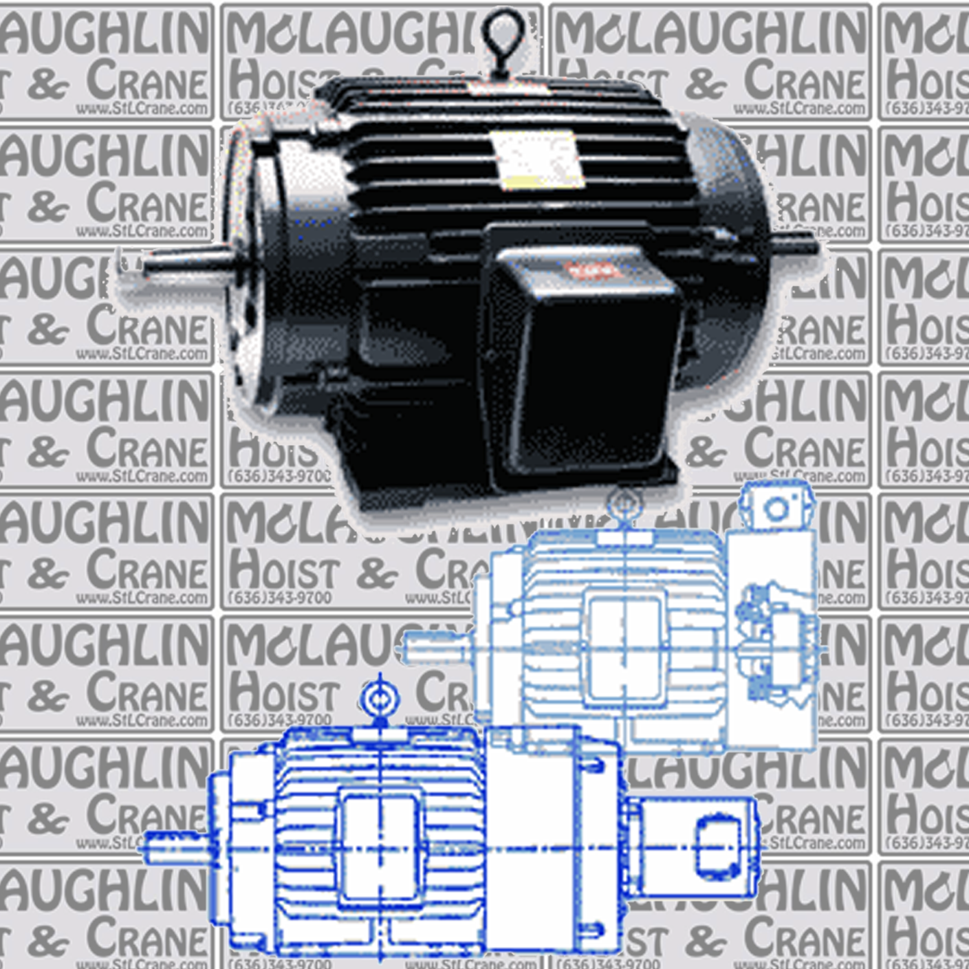 Magnetek Inverter Duty Motors – Blue Max® & Black Max® Motors